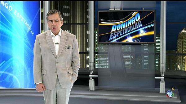 Domingo Espetacular Obteve a maior audiência do canal, neste domingo-megacanal